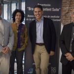 Pablo Muñoz, Marga Ollero, Toni Seijo y José Pérez